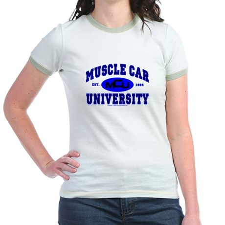 Muscle Car U Jr. Ringer T-Shirt