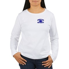 Muscle Car U Women's Long Sleeve Tee-Shirt