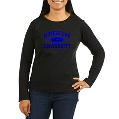 Muscle Car U Women's Long Sleeve Dark T-Shirt
