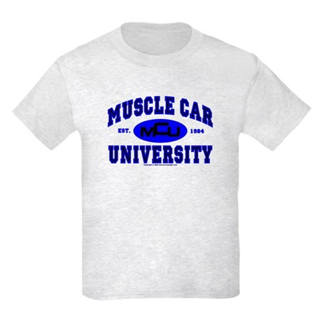 Muscle Car U Kids Light T-Shirt