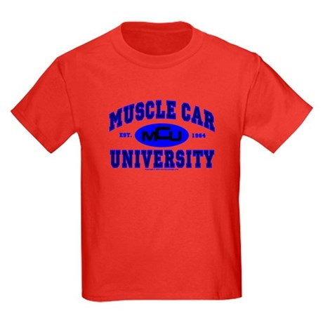 Muscle Car U Kids Dark Colored T-Shirt