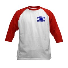 Muscle Car U Kids Baseball Jersey