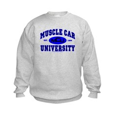 Muscle Car U Kids Sweatshirt