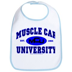 Muscle Car U Bib