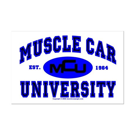 Muscle Car U Mini Poster Print