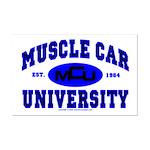 Muscle Car U Mini Poster Print
