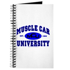 Muscle Car U Journal