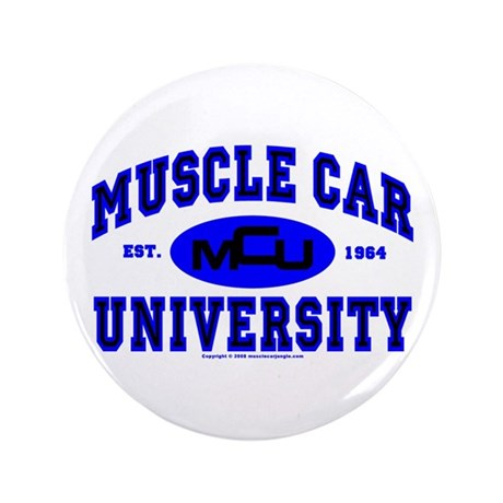 "Muscle Car U 3.5"" Button"