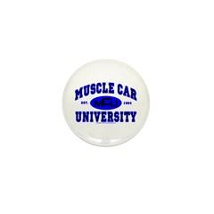 Muscle Car U Mini Button (10 pack)