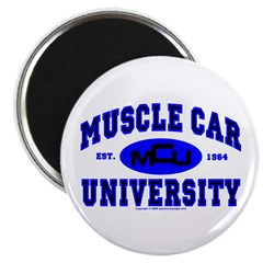 "Muscle Car U 2.25"" Magnet (100 pack)"