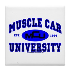Muscle Car U Tile Coaster