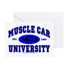 Muscle Car U Greeting Cards (Pk of 20)