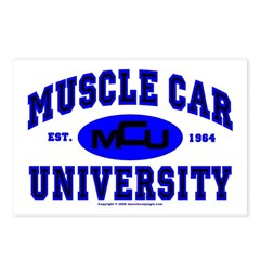 Muscle Car U Postcards (Package of 8)