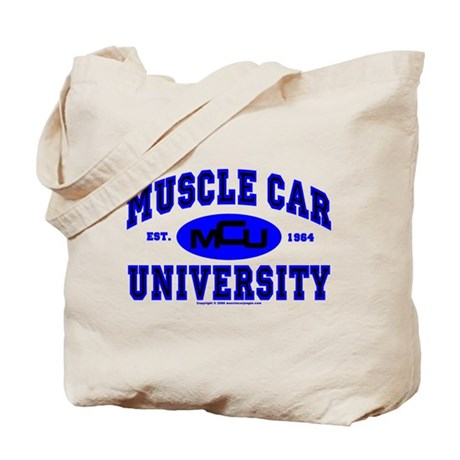Muscle Car U Tote Bag