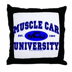 Muscle Car U Throw Pillow