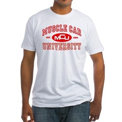 Musclecar University III Fitted T-Shirt