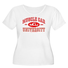 MCU III Women's Plus Size Scoop Neck T-Shirt