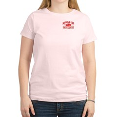 Musclecar University III Women's Light T-Shirt