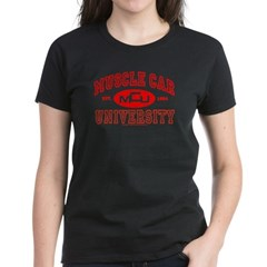Musclecar University III Women's Dark Color Tee