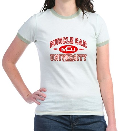 Musclecar University III Jr. Ringer T-Shirt