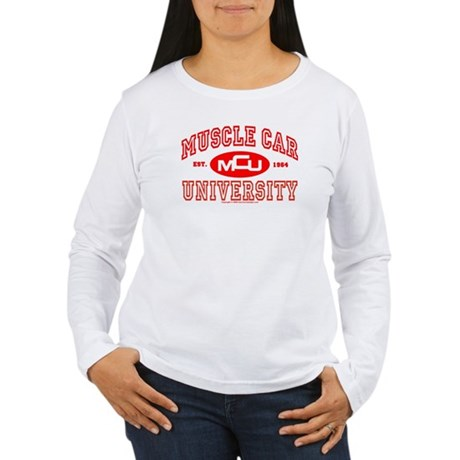 Musclecar University III Women's Long Sleeve Tee