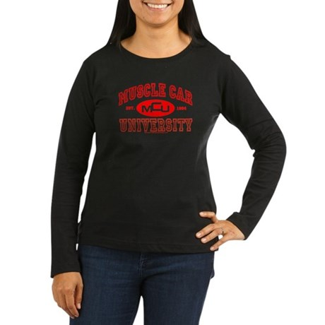 MCU III Women's Long Sleeve Dark Tee Shirt
