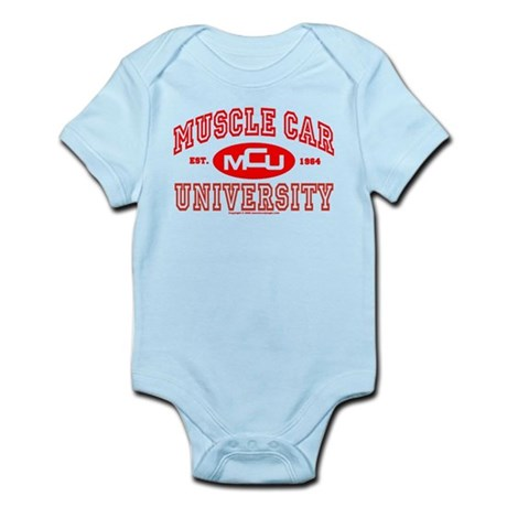 Musclecar University III Infant Bodysuit