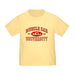 Musclecar University III Toddler T-Shirt