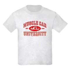 Musclecar University III Kids Light T-Shirt