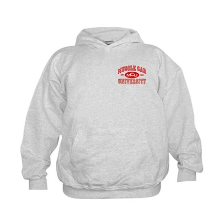 Musclecar University III Kid's Hoodie Sweatshirt