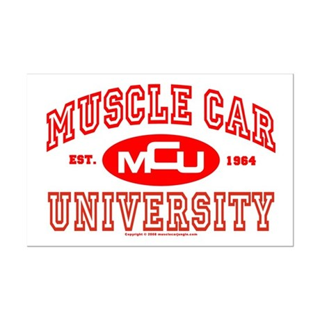 Musclecar University III Mini Poster Print
