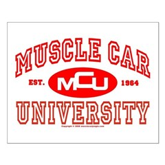 Musclecar University III Small Poster