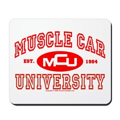 Musclecar University III Mousepad