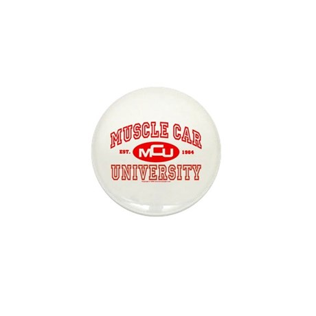 Musclecar University III Mini Button