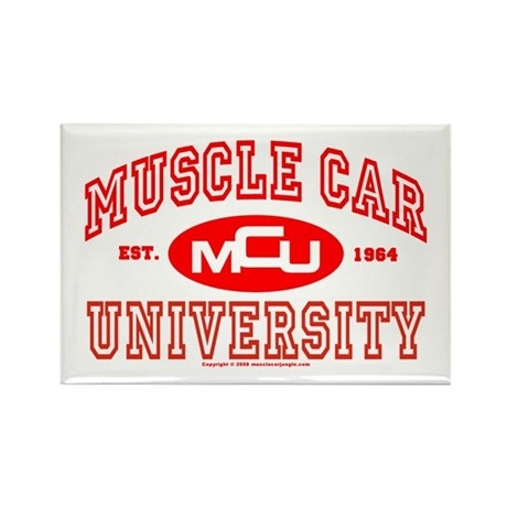 Musclecar University III Rectangle Magnet