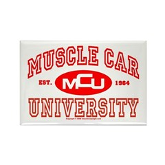 Musclecar University III Rectangle Magnet (100 pac