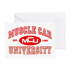 Musclecar University III Greeting Card