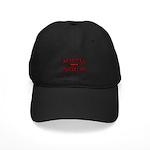 Real Men Drive Muscle Cars Black Cap