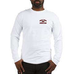 Real Men Drive Muscle Cars Long Sleeve Tee-Shirt