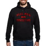 Real Men Drive Muscle Cars Hoodie (dark)