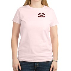 Real Men Drive Muscle Cars Women's Light T-Shirt