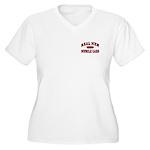 Real Men Drive... Women's Plus Size V-Neck T-Shirt