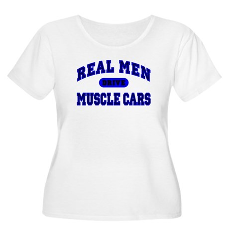 Real Men....II Women's Plus Size Scoop Neck Tee