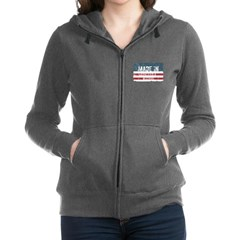 Real Men Drive Muscle Cars II Womens Raglan Hoodie