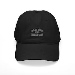 Real Men Drive Muscle Cars III Black Cap