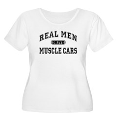 Real Men...III Women's Plus Size Scoop Neck Tee