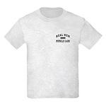 Real Men Drive Muscle Cars III Kids Light T-Shirt