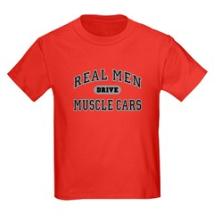 Real Men Drive...III Kids Dark Colored Tee