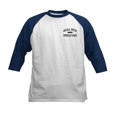 Real Men Drive...III Kids Baseball Jersey