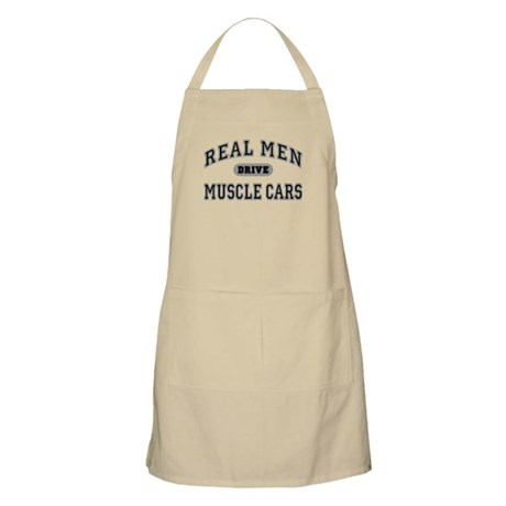 Real Men Drive Muscle Cars III BBQ Apron